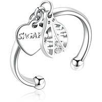 anello donna gioielli Sagapò You SYO33B