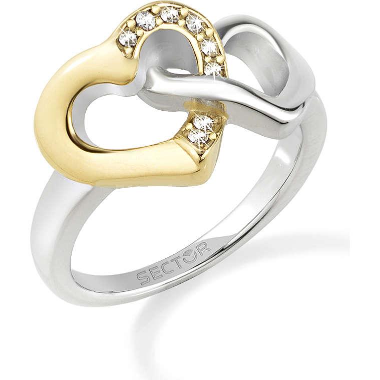 anello donna gioielli Sector Family & Love SACN24016
