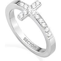 anello donna gioielli Sector Love and Love SADO39018