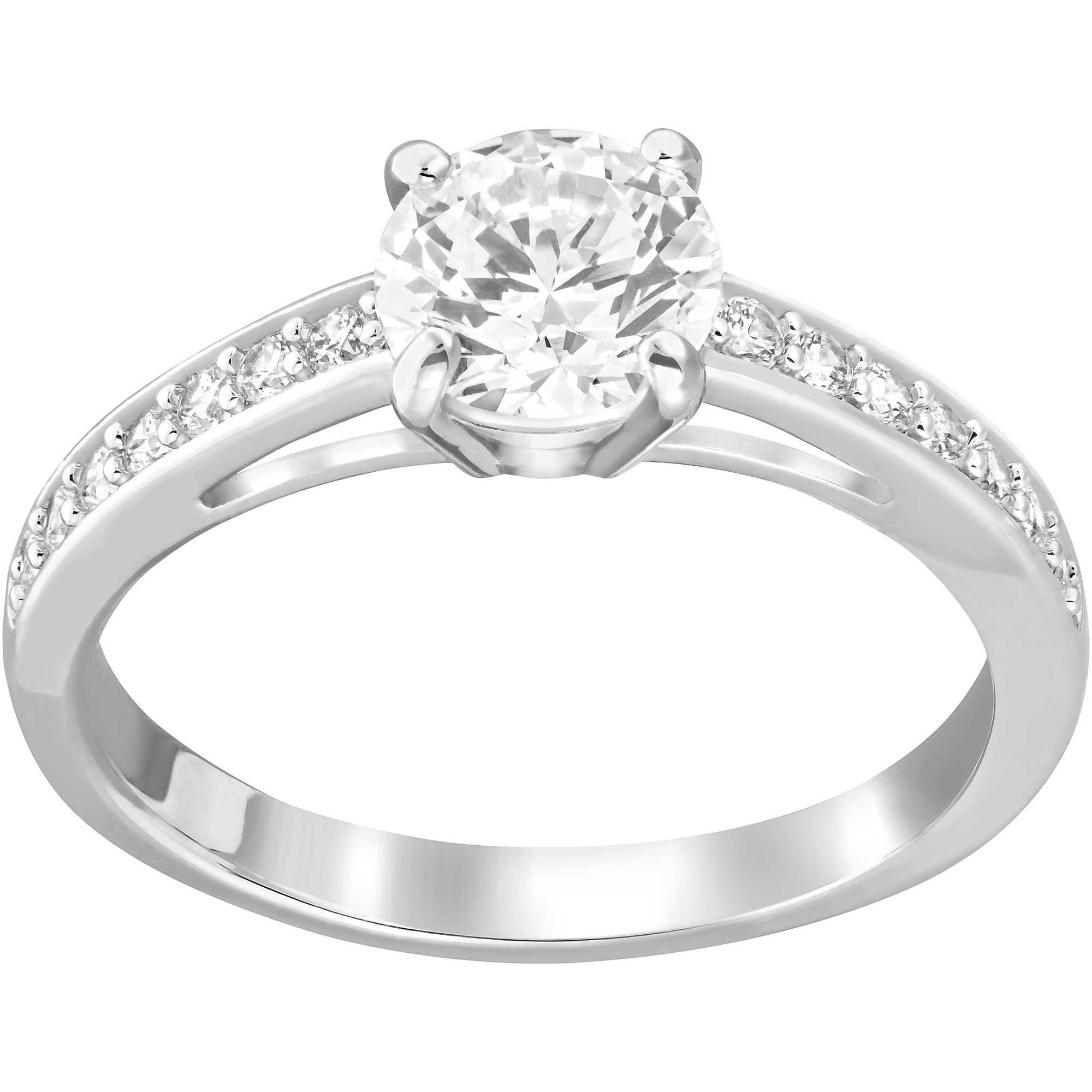 foto ufficiali b05c3 39fc9 anello donna gioielli Swarovski Attract 5032919
