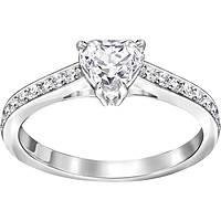 anello donna gioielli Swarovski Attract Heart 5221388