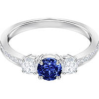 anello donna gioielli Swarovski Attract Trilogy 5448850