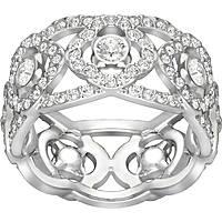 anello donna gioielli Swarovski Daylight 5184572