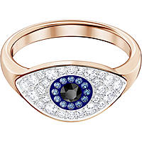 anello donna gioielli Swarovski Duo Evil Eye 5441193