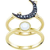 anello donna gioielli Swarovski Duo Moon 5428614