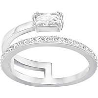 anello donna gioielli Swarovski Gray 5265697