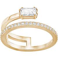 anello donna gioielli Swarovski Gray 5265698