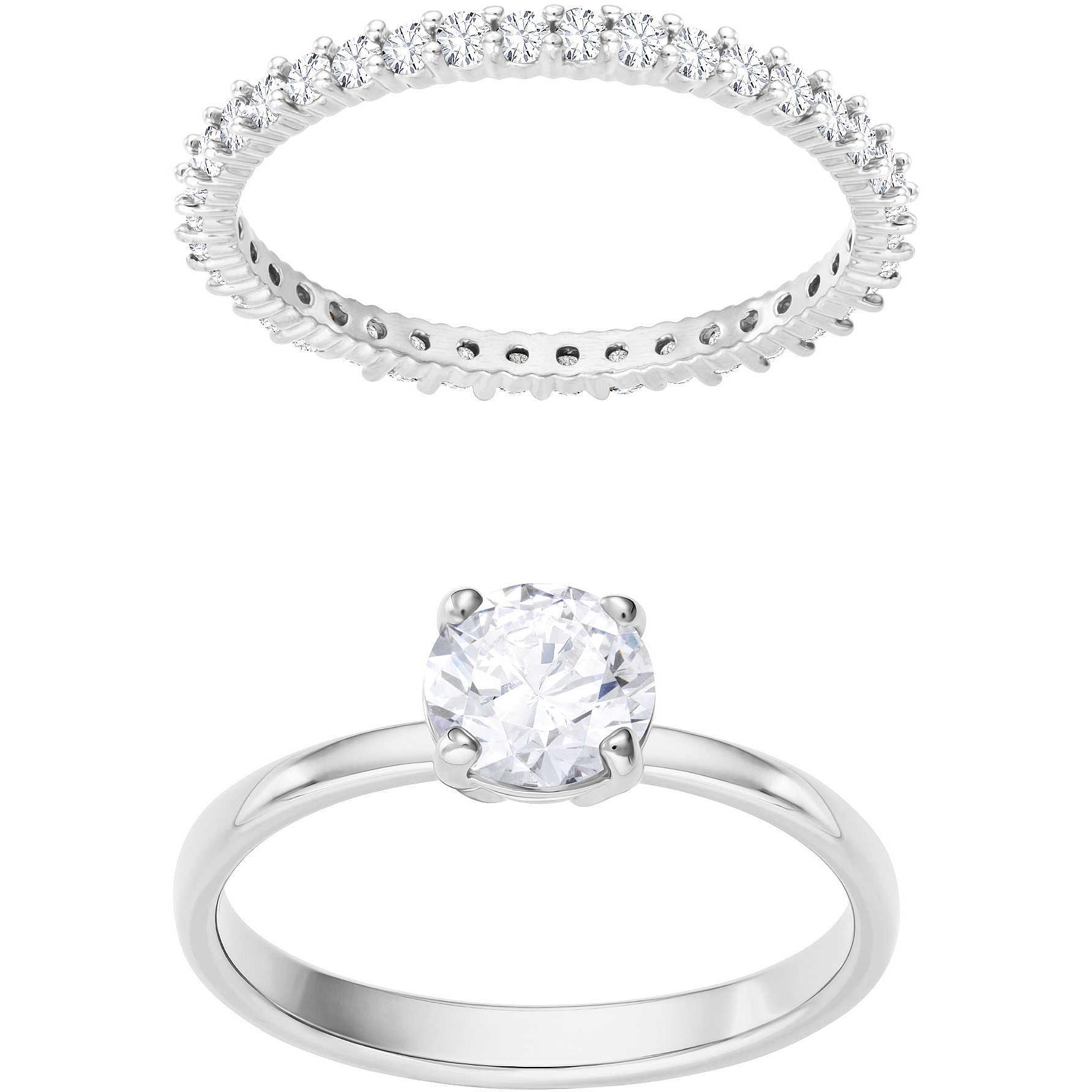 anello fidanzamento swarovski