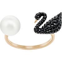 anello donna gioielli Swarovski Iconic Swan 5296470
