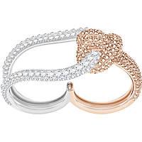 anello donna gioielli Swarovski Lifelong 5412060