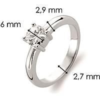 anello donna gioielli Ti Sento Milano 1463ZI/56
