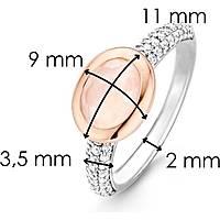 anello donna gioielli Ti Sento Milano Collaborazione 12077LP/52