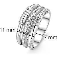 anello donna gioielli Ti Sento Milano Collaborazione 12089ZI/54