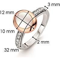 anello donna gioielli Ti Sento Milano Embrace 12004MW/58