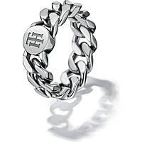 anello donna gioielli Tommy Hilfiger Chain THJ2700966B