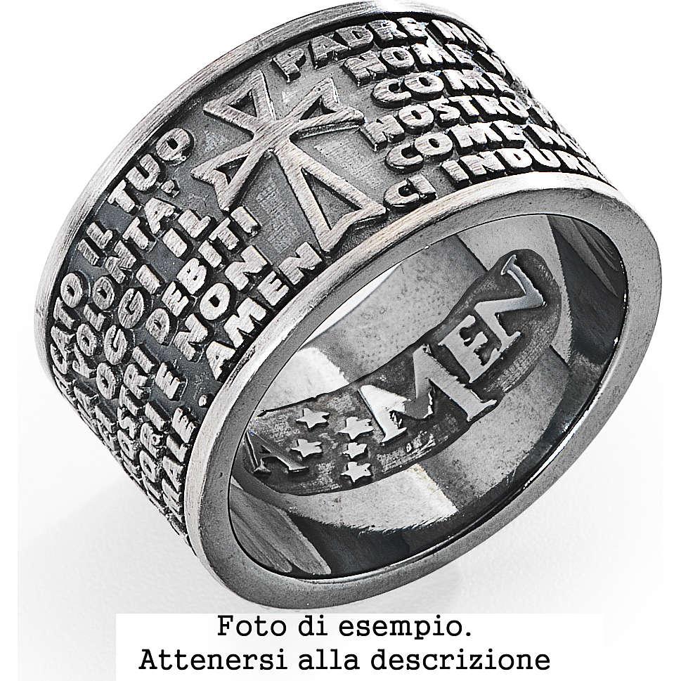 anello unisex gioielli Amen AMB-22