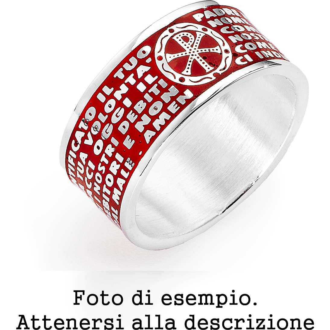anello unisex gioielli Amen AMS08-14