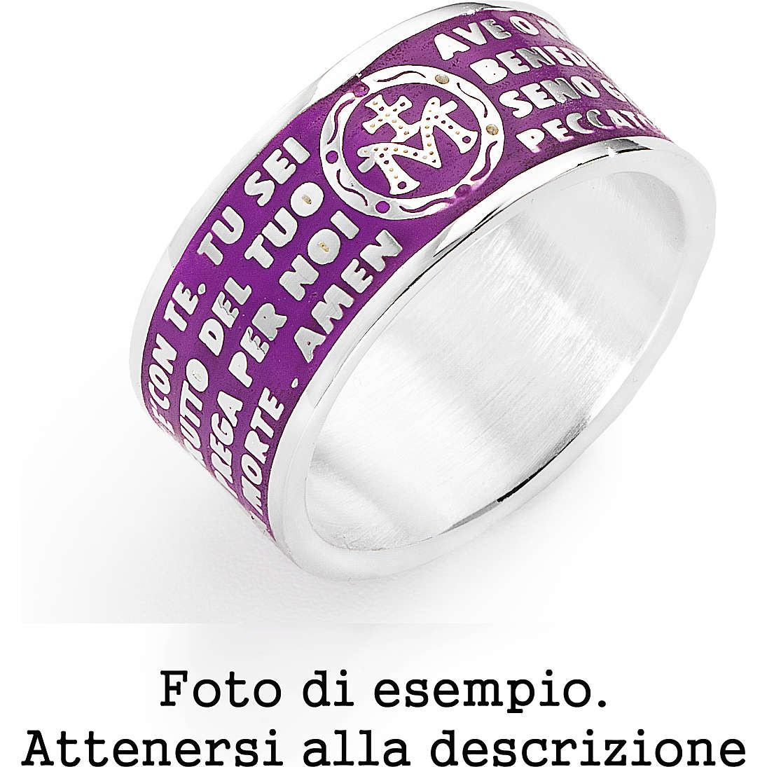 anello unisex gioielli Amen AMS09-14