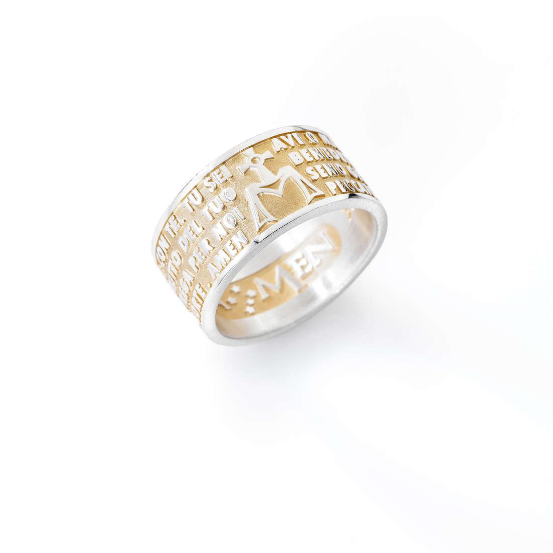 anello unisex gioielli Amen Ave Maria AMG-14