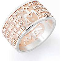 anello unisex gioielli Amen Ave Maria AMR-14