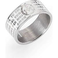anello unisex gioielli Amen Ave Maria Italiano AMS07925-26