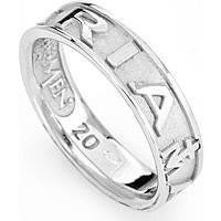 anello unisex gioielli Amen Ave Maria Italiano AVEB-12