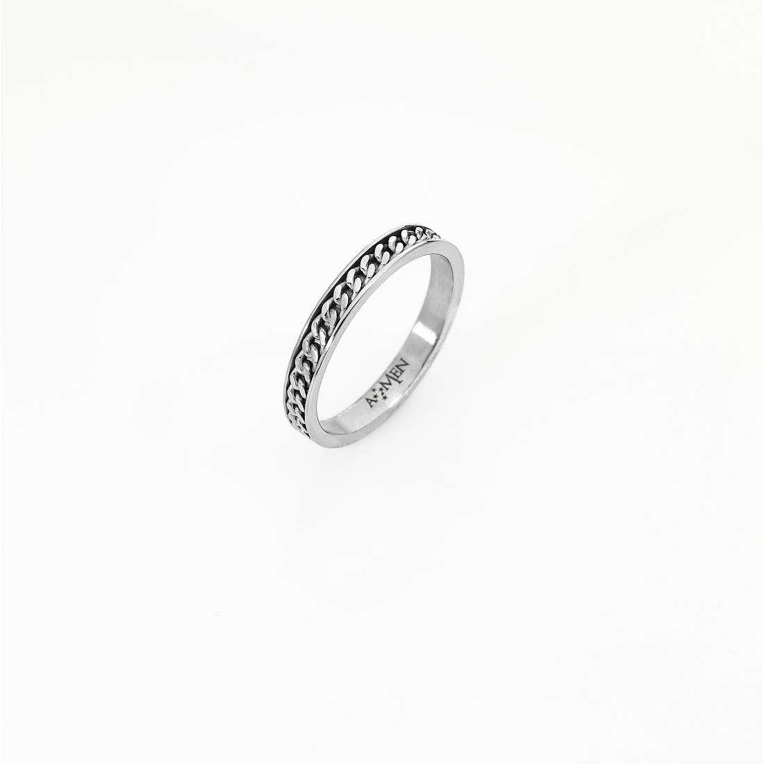 anello unisex gioielli Amen Fedina Piccola FE004-24