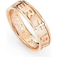anello unisex gioielli Amen Padre Nostro Latino PATR-12