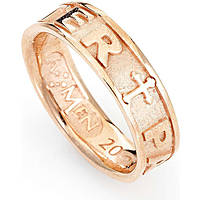 anello unisex gioielli Amen Padre Nostro Latino PATR-18