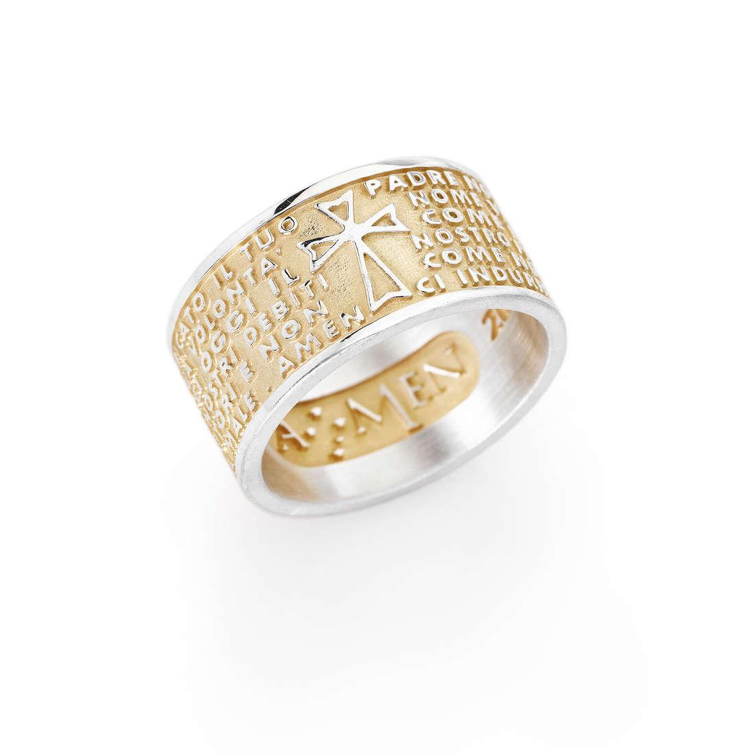 anello unisex gioielli Amen Padre Nostro PNG-12
