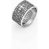anello unisex gioielli Amen Padre Nostro PNLAB925-14