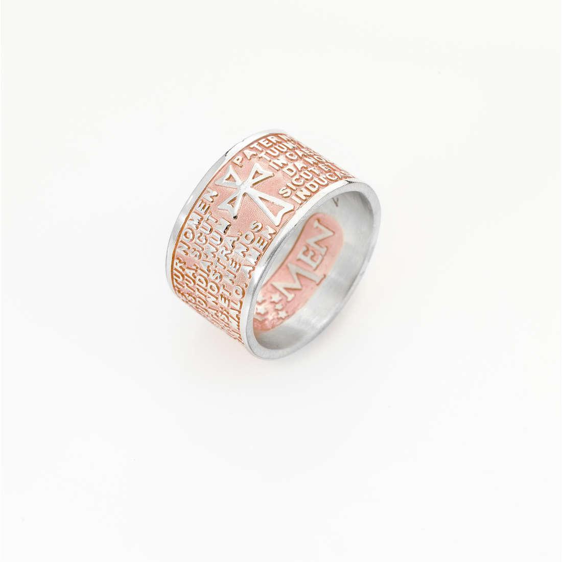 anello unisex gioielli Amen Padre Nostro PNLAR-14