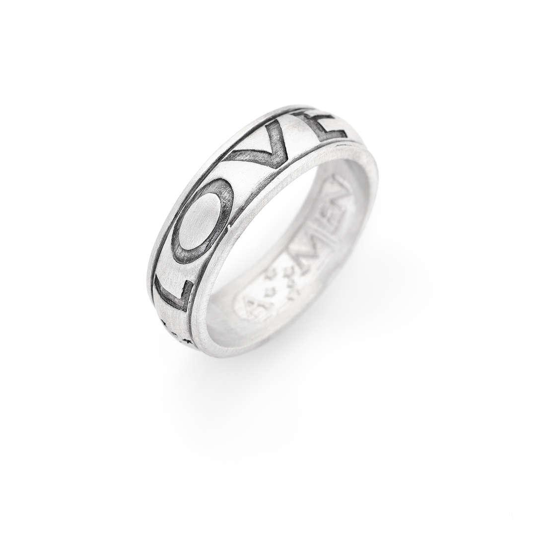 anello unisex gioielli Amen Ti Amo ALON-12