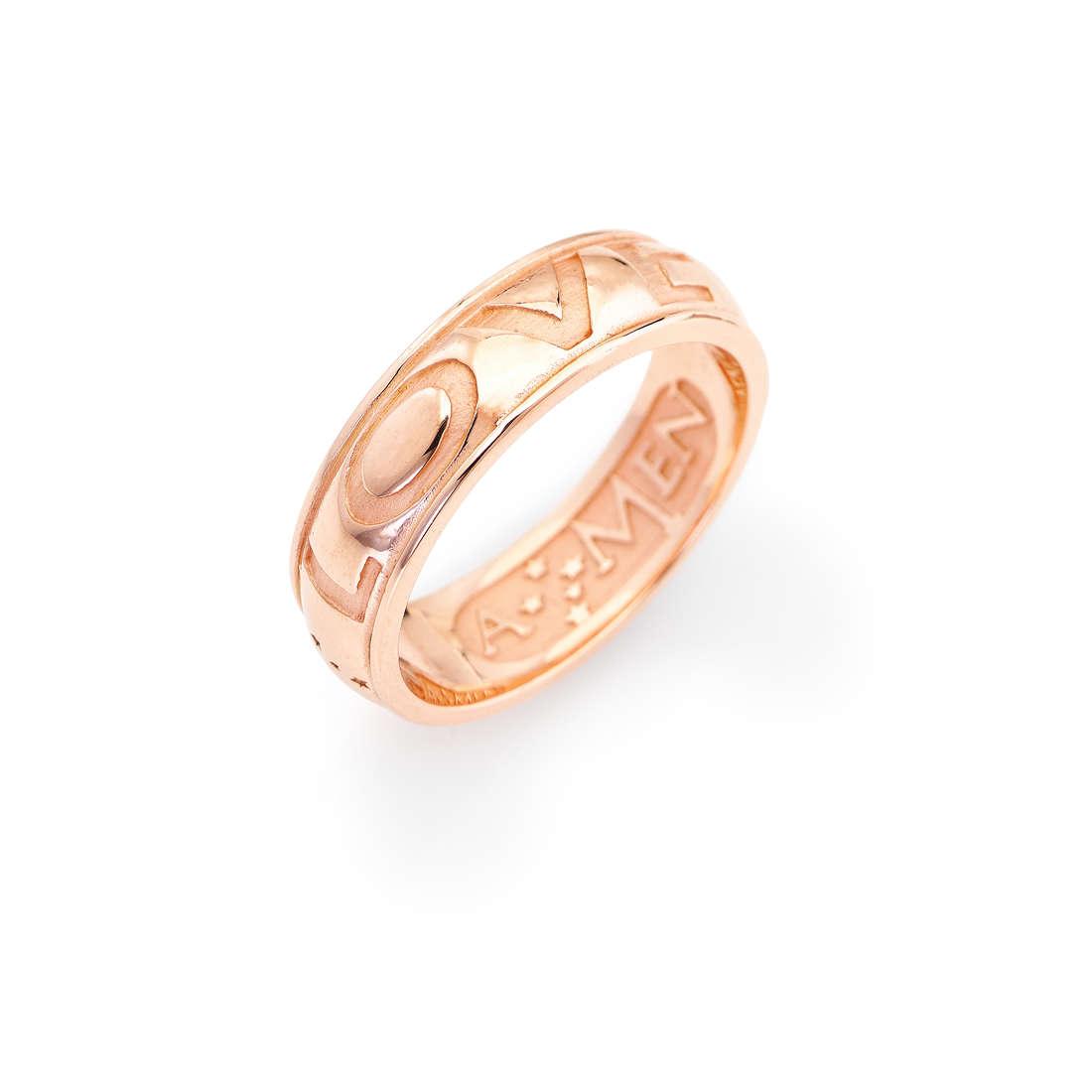 anello unisex gioielli Amen Ti Amo ALOR-16