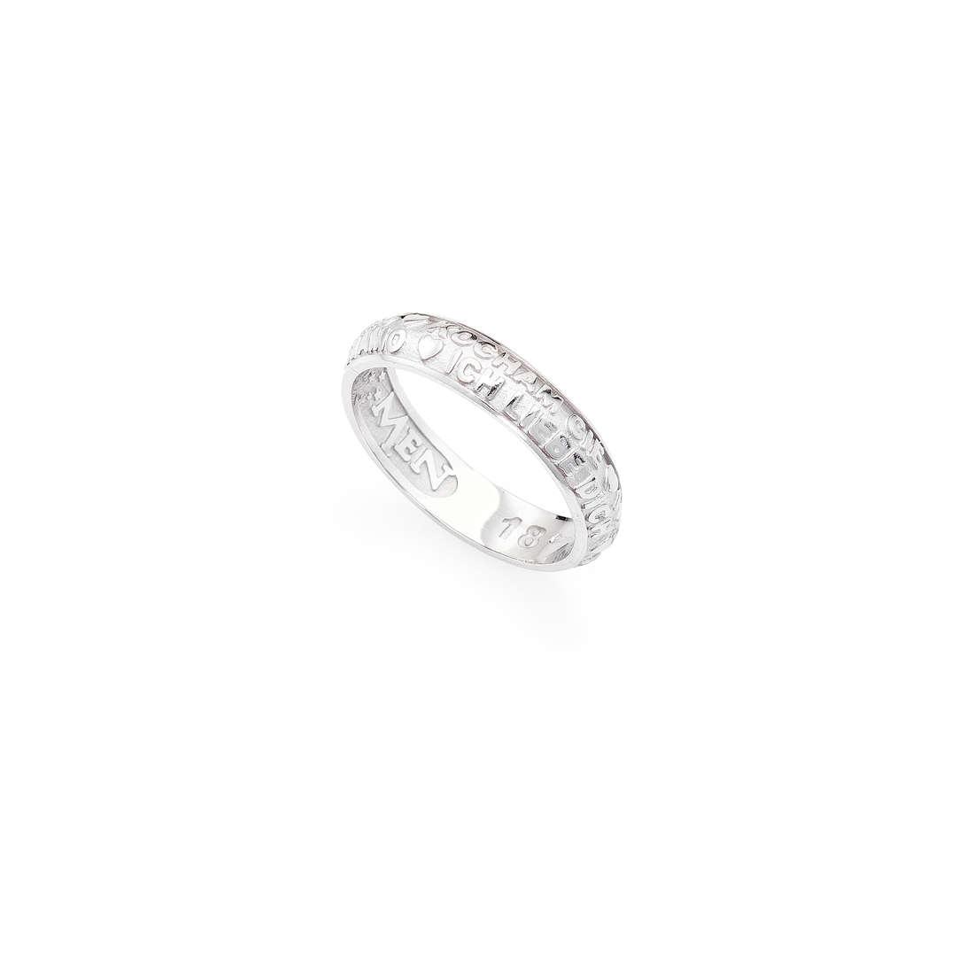anello unisex gioielli Amen Ti Amo ATAB-10