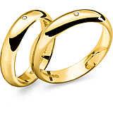 anello unisex gioielli Comete Fedi ANB 1108G M11