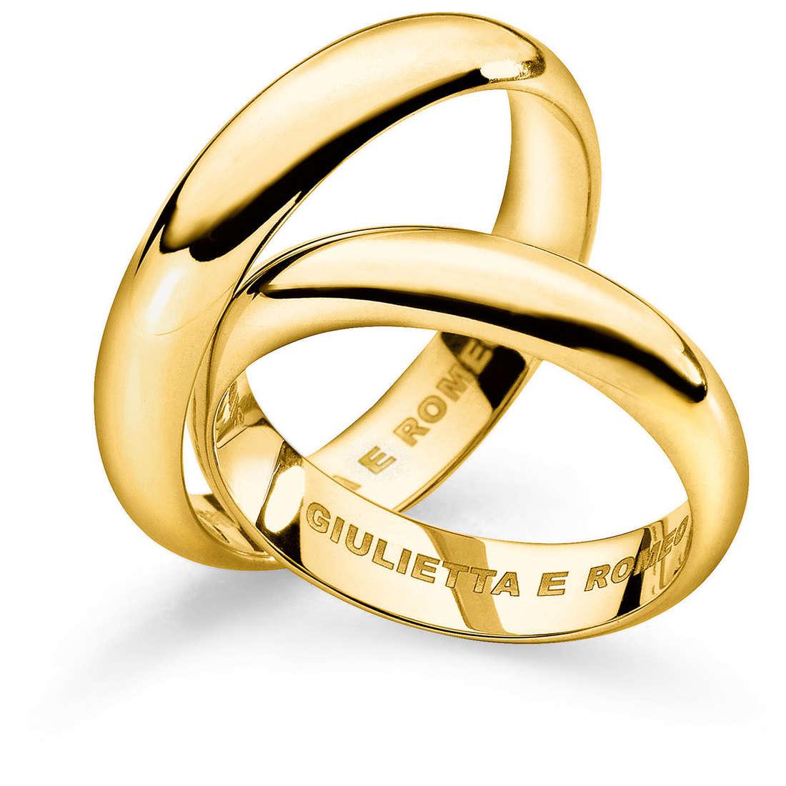 anello unisex gioielli Comete Fedi ANB 1109G M11