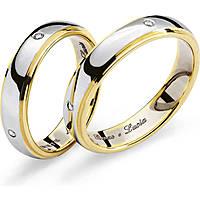 anello unisex gioielli Comete Fedi ANB 1110BG M29