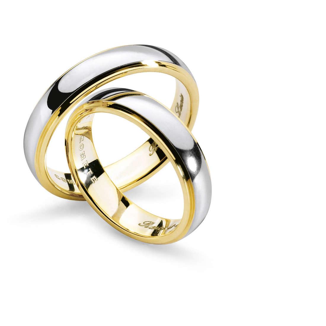 anello unisex gioielli Comete Fedi ANB 1112BG M11