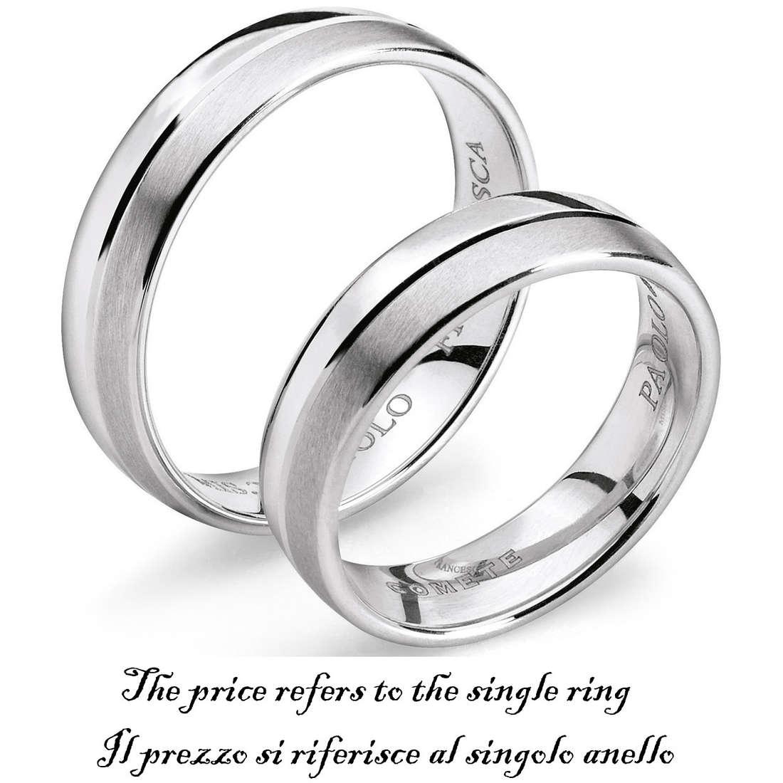 anello unisex gioielli Comete Fedi ANB 1115B M11