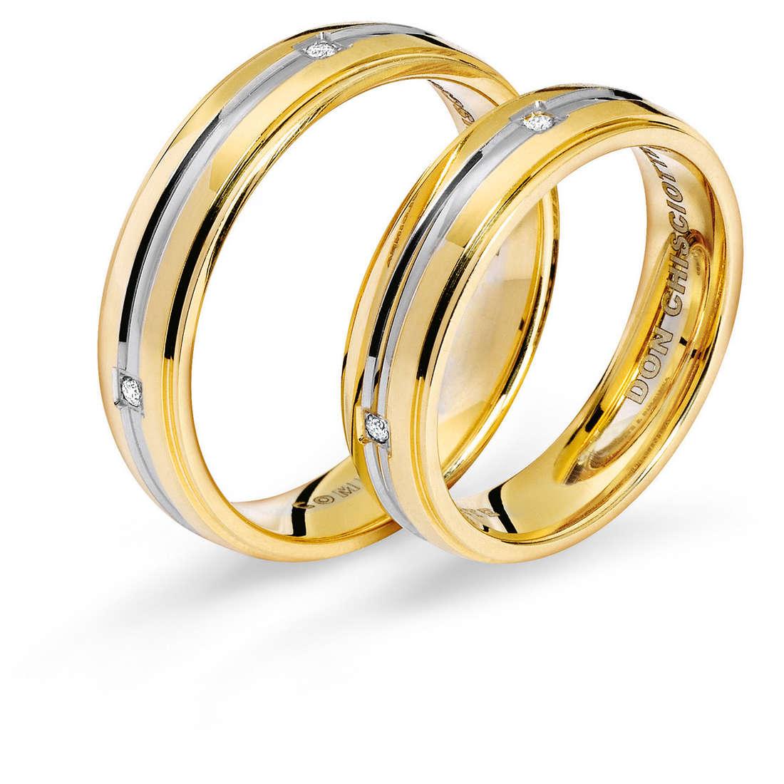 anello unisex gioielli Comete Fedi ANB 1116BG M11