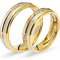 anello unisex gioielli Comete Fedi ANB 1116BG M26