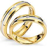 anello unisex gioielli Comete Fedi ANB 1117BG M11