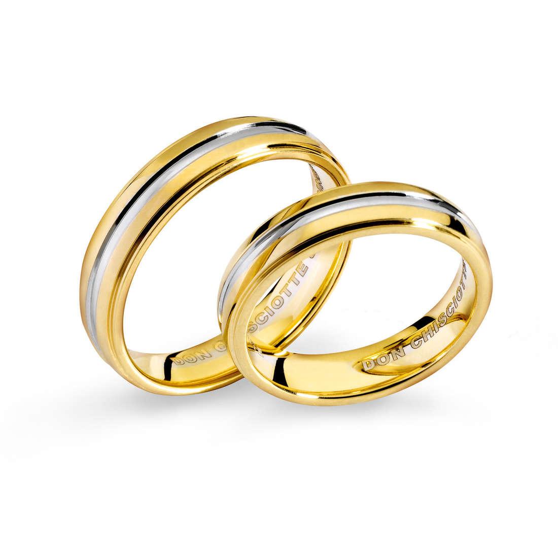 anello unisex gioielli Comete Fedi ANB 1118BG M11