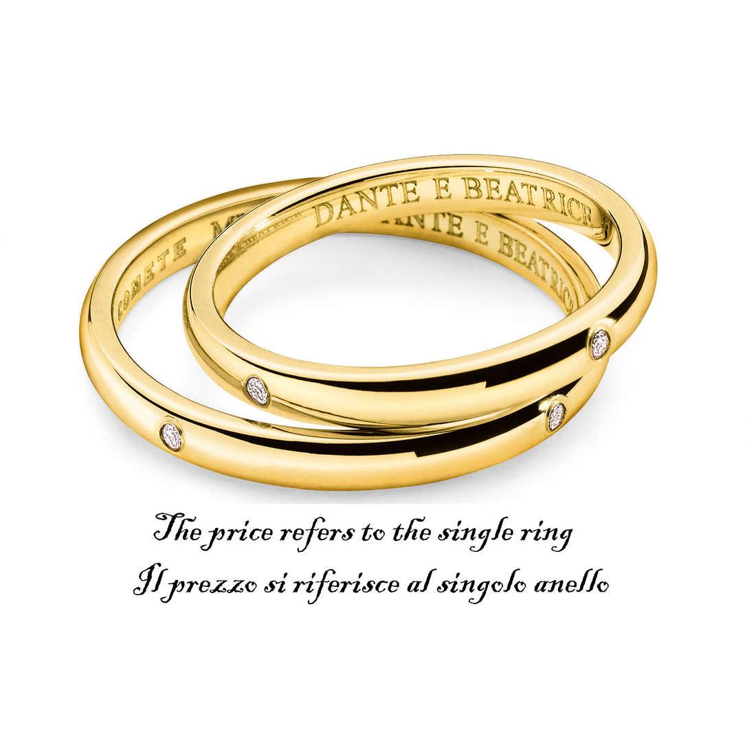 anello unisex gioielli Comete Fedi ANB 1120G M11