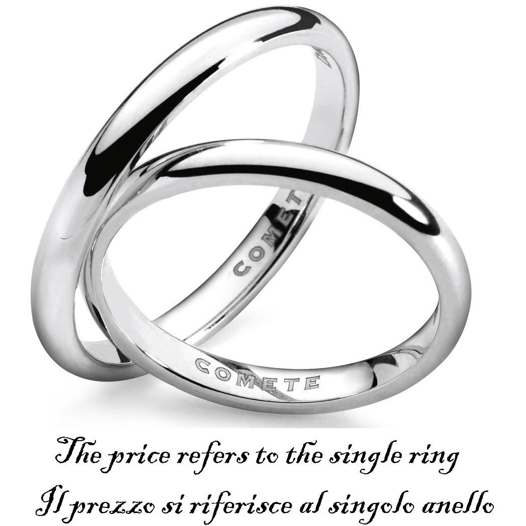 anello unisex gioielli Comete Fedi ANB 1122B M11
