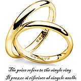 anello unisex gioielli Comete Fedi ANB 1122G M11