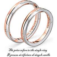 anello unisex gioielli Comete Fedi ANB 1123BR M17
