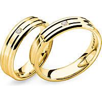 anello unisex gioielli Comete Fedi ANB 1130G M15