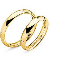 anello unisex gioielli Comete Fedi ANB 1132G M16